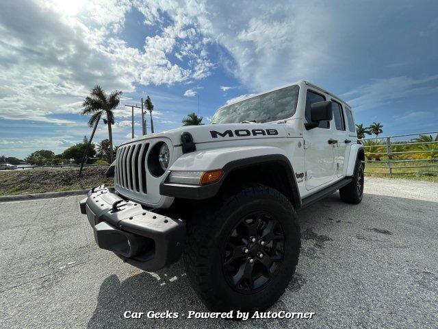 2018 Jeep Wrangler Unlimited Sahara 4X4 6-Speed Automatic