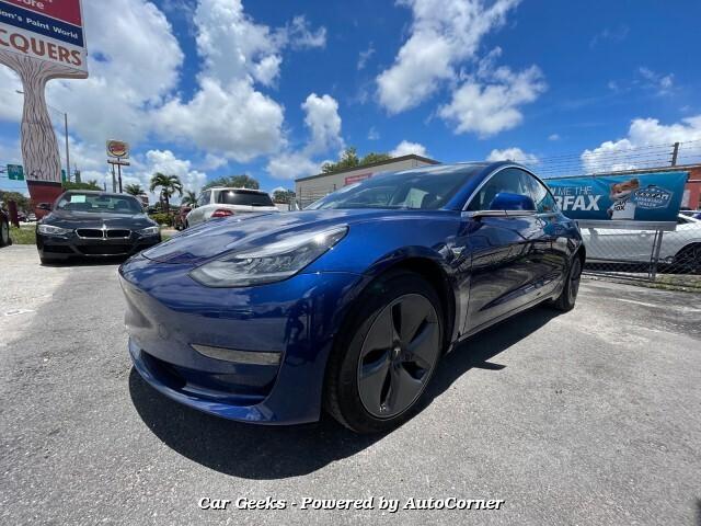 2020 Tesla Model 3 Standard Range Plus 1-Speed Automatic
