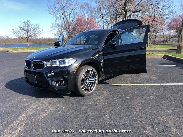 2018 BMW X6 M 8-Speed Automatic MSRP $108495