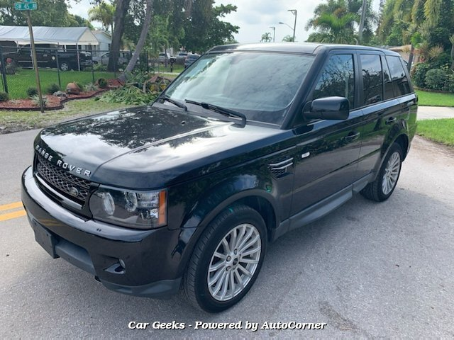 2012 Land Rover Range Rover Sport HSE 6-Speed Automatic