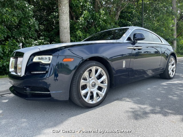 2017 Rolls Royce Wraith Coupe w/Starlight CPO 3 year Warranty