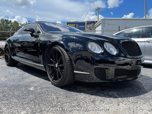 2005 Bentley Continental GT Coupe 6-Speed Automatic