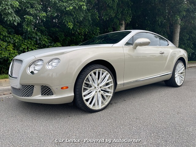 2012 Bentley Continental GT Base 12cyl Turbo