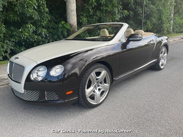 2013 Bentley Continental GTC Convertible Mulliner Driving Spec