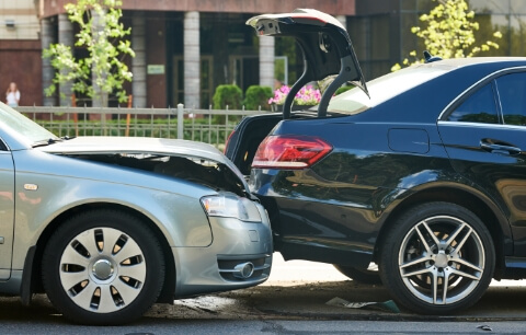 Vehicles collision image