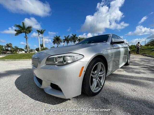 2011 BMW 5-Series 550i 8-Speed Automatic