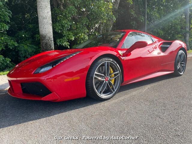 2018 Ferrari 488 Spider Convertible MSRP 365453